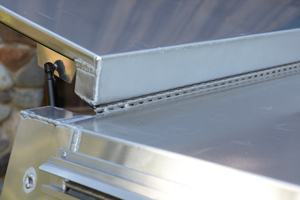 Somersong Forge Trailers:  Rain Rail Trim Features: -Great on rainy days -Interior gutter in rear